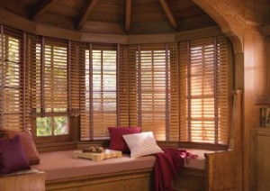 Flagstaff wood blinds