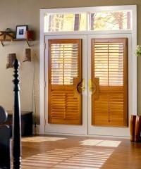 French door shutter
